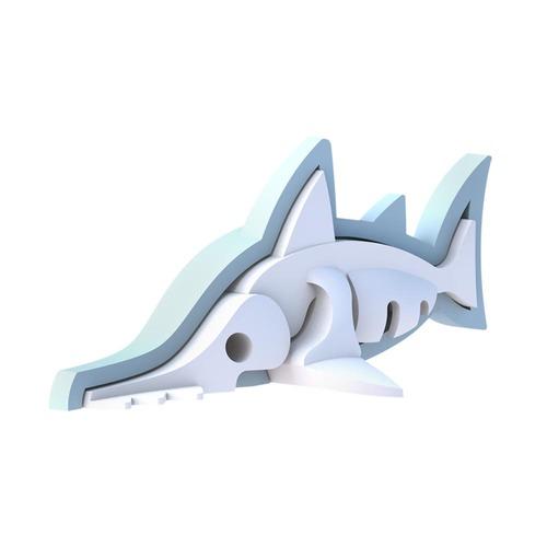 HALFTOYS 3D海洋系列 鋸齒鯊 SAW SHARK