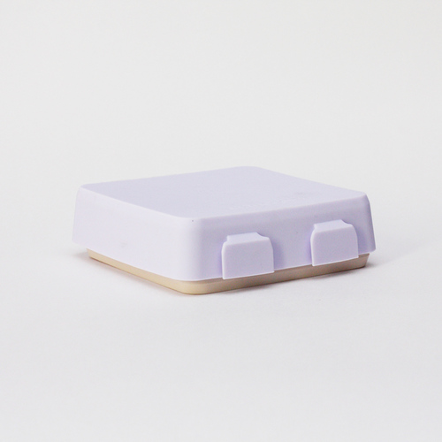 2angels 矽膠拼圖餐盤 薰衣草拿鐵