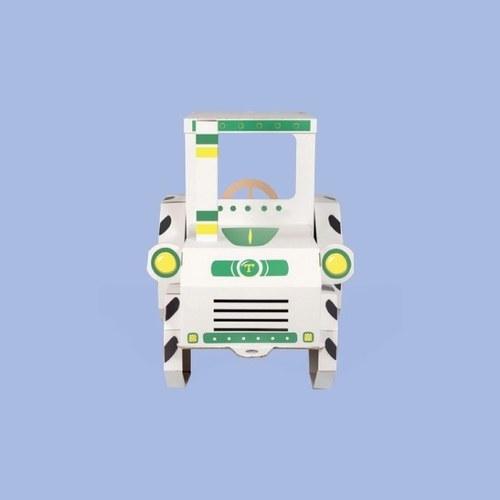 TEKTORADO波蘭創意紙箱玩具- 卡車