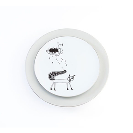 cindymode 銀狐餐盤組(2入)
