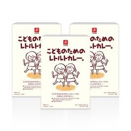 日本CANYON兒童咖哩調理包 3入組