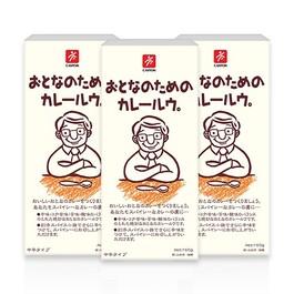 日本CANYON大人味咖哩塊150G 3入組
