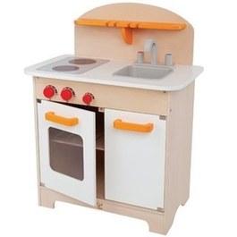 德國Hape愛傑卡 大型廚具台(白色)