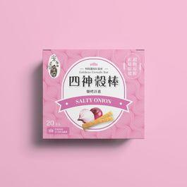 【米香抱抱】四神穀棒-鹽烤洋蔥口味24m+