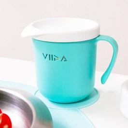 VIIDA Soufflé 抗菌不鏽鋼杯-湖水綠