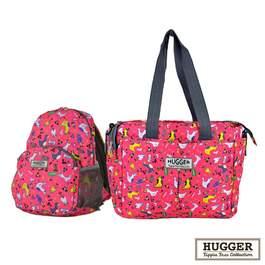 Hugger時尚親子包組 (媽媽包+幼童背包)