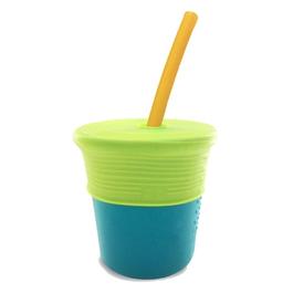 Silikids 果凍餐具 矽膠吸管杯組