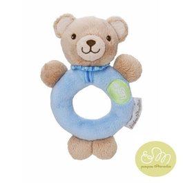 法國PiouPiou Merveilles 長臂熊安撫搖鈴(藍色)