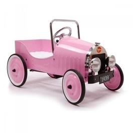 Baghera 復古敞篷踏板車 粉紅 (禮物版)