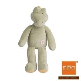 miYim有機棉安撫娃娃32cm 阿里鱷魚