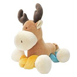 miYim有機棉瑜珈娃娃 繽紛麋鹿