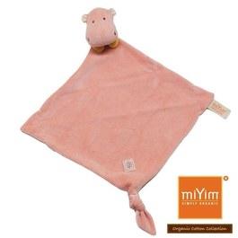 miYim有機棉安撫巾 喜寶河馬