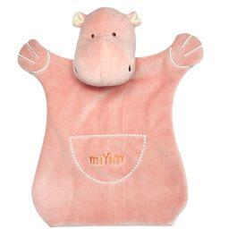 miYim有機棉手偶安撫巾 喜寶河馬