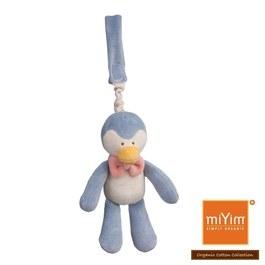 【絕版品】miYim有機棉吊掛娃娃 噗噗企鵝