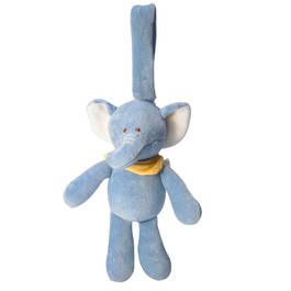 miYim有機棉吊掛娃娃 芬恩象象