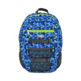 Hugger孩童登山背包 迷彩藍