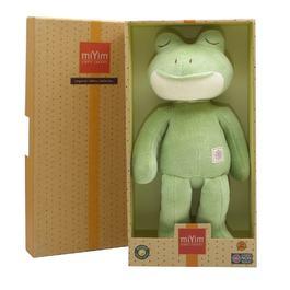 miYim有機棉安撫娃娃32cm 好夢蛙