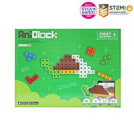 【親子天下STEAM嚴選】AR積木拼圖 6色 - AniBlock安尼博樂