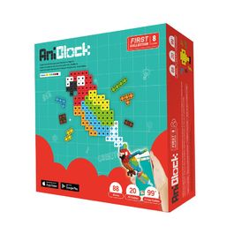 AniBlock安尼博樂 AR積木拼圖 8色