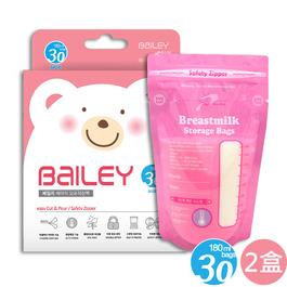 BAILEY感溫母乳儲存袋(基本型) 180ml 30入 2盒