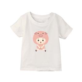 小童棉柔短T 豬寶寶