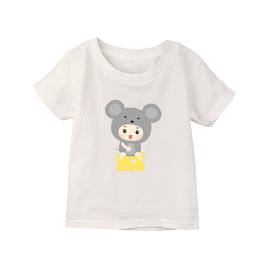 小童棉柔短T 鼠寶寶