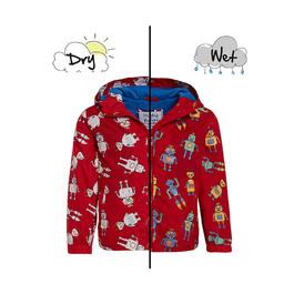 HOLLY & BEAU變色雨衣 紅色機器人