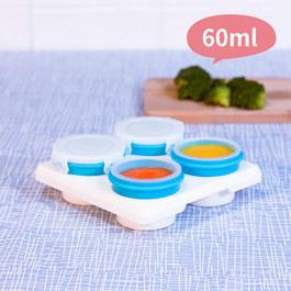 2angels矽膠副食品儲存杯 60ml