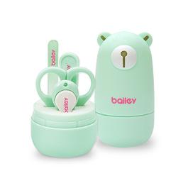 BAILEY寶寶安全指甲剪4件組(小熊)