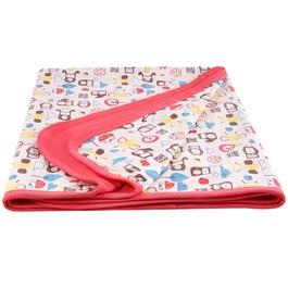 【薄款 附收納袋】mezoome有機棉舒適被 蜜桃紅