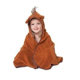 Cuddledry有機棉幼童舒適浴巾-小馬