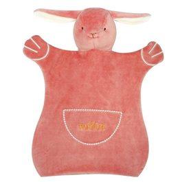 miYim有機棉手偶安撫巾 邦妮兔兔