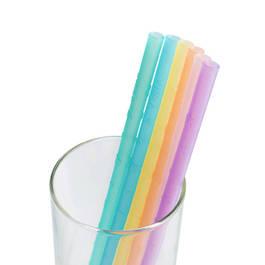 VIIDA Joy 環保矽膠吸管 彩虹