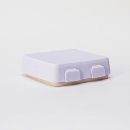 2angels矽膠拼圖餐盤 薰衣草拿鐵