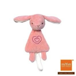 miYim有機棉安撫奶嘴鍊夾 邦妮兔兔
