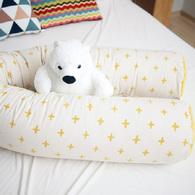 Kangaruru多功能防跌落床圍抱枕 175cm 光芒小十字