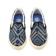HAMS 兒童 Jacquard 編織懶人鞋 海洋藍