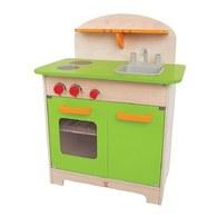 德國Hape愛傑卡 大型廚具台(綠色)