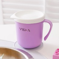 VIIDA Soufflé 抗菌不鏽鋼杯-薰衣草紫