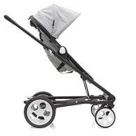 丹麥Seed - Papilio頂級嬰兒推車 (黑車架+灰座椅)