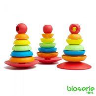 bioserie 2合1益智堆疊玩具