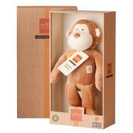 miYim有機棉安撫娃娃32cm 布布小猴