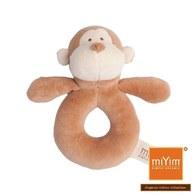 miYim有機棉手搖鈴 布布小猴