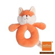 【絕版品】miYim有機棉手搖鈴 福斯小狐