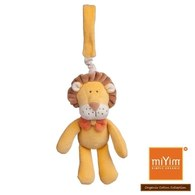 (惜福品)miYim有機棉吊掛娃娃 里歐獅子(B)