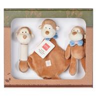miYim有機棉安撫玩具禮盒組 布布小猴