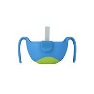 b.box專利吸管三用碗 海洋藍