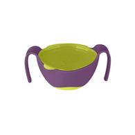 b.box專利吸管三用碗 葡萄紫