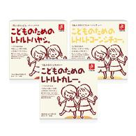 日本CANYON兒童咖哩調理包 綜合口味 3入組