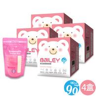 BAILEY感溫母乳儲存袋(基本型) 180ml 90入 4盒